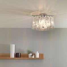 Plafonnier salle de bains LED Duncan  3 lampes