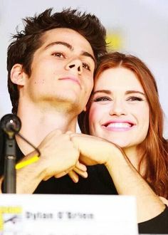 Dylan O'Brien & Holland Roden #TeenWolf