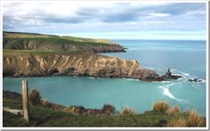 Banks Peninsula Coastline Large- New Zealand south island