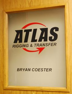 Office Door Makeover, frosted glass using clear contact paper.