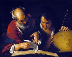 Bernardo Strozzi  Genoa 1581 – Venice 1644  ALL ART PIECES BY THIS ARTIST  Eratosthenes Teaching in Alexandria  About 1635