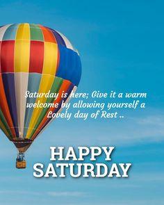 Rest Days, Happy Saturday, Sabbath