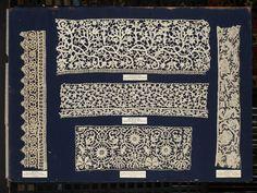 Italian tape lace / needle lace 1600s