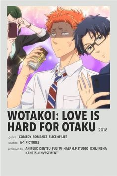 Minimalistic anime posters!