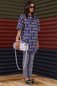 Kenzo Resort 2013 Fashion Show