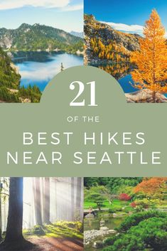 Hiking in Seattle is absolutely amazing. Seattle is near many national park and state parks which allows easy access to some amazing hiking trails. Seattle even has amazing hiking in and around the ci Seattle Hiking, Seattle Travel Guide, Seattle Vacation, Colorado Hiking, Day Trips From Seattle, Seattle Area, Tennessee Vacation, Montezuma, Monteverde