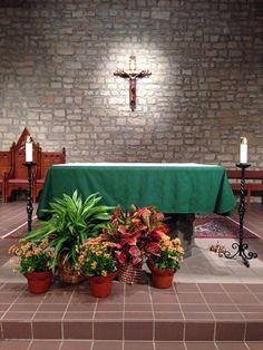 St. Joan of Arc Catholic Church, Powell, OH, Fall, Ordinary Time
