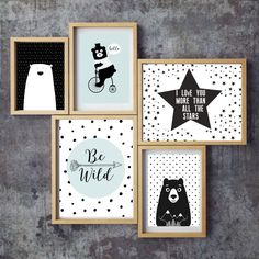 The product pastel black and white kids room decor ,bear art Tribal Nursery Art Prints, Tribal Animals Nursery Prints, Tribal Wall Art, Tribal Nursery Decor, Be Tictail lets you create a beautiful online store for free - tictail.com