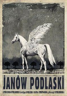 Janów Podlaski, polski plakat turystyczny