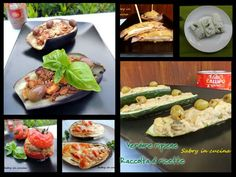 Verdure ripiene - Raccolta di ricette - Sabry in cucina Healthy Cooking, Fruit Salad, Buffet, Salads, Tacos, Beef, Chicken, Vegetables, Ethnic Recipes
