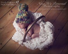Crochet Hat Pattern Easy Beginner Handspun Beanie Crochet Pattern PDF 225 Newborn to Adult Sizes