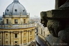 Oxford, England. One of my favorites cities!
