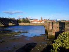 Looking toward Berwick upon Tweed from Tweedmouth
