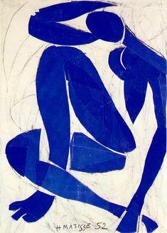 """Henri Matisse (FR 1869-1954). """"Blue Nude"""" 1952."""