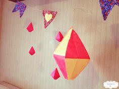 Balão de Papel de Seda Decorativo para Festa Junina