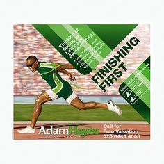 Olympic running leaflet