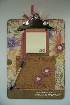 Altered clipboard organizer