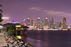 San Diego Downtown By Night by Joseph Sketches - Photo 133316325 - 500px