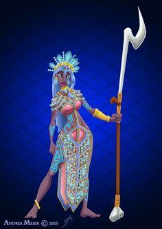 Royal Jewels Dress Edition: KIDA by MissMikopete on DeviantArt Kida Disney, Arte Disney, Disney Love, Disney Family, Disney Princess Fashion, Disney Princess Art, Disney Fan Art, Disney Animated Movies, Disney Films
