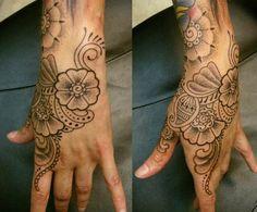 flower-hand-tattoos-for-women : Tattoo Ideas   for Men   for Girls