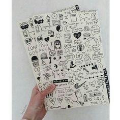 grunge doodles.