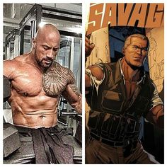 The Rock has been confirmed as playing 'The Man of Bronze' in the upcoming Shane Black flick DOC SAVAGE! The pulp hero/ adventurer has appeared in many significant comic book runs over the years most notably at DC Comics and more recently at Dynamite Comics.  #TheRock #DwayneJohnson #DocSavage #TheManofBronze #pulphero #pulpadventurer #adventure #magazines #reinvention #ShaneBlack #comicbooks #greatcasting #movie by kapowcomicbookshow http://bit.ly/AdventureAustralia