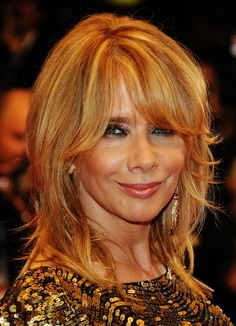Update Your Look with 20 Fringe Hairstyles: Heavy Fringe Rosanna Arquette Natural Braided Hairstyles, Fringe Hairstyles, Hairstyles With Bangs, Straight Hairstyles, Cool Hairstyles, Beautiful Hairstyles, Round Face Haircuts, Hairstyles For Round Faces, Rosanna Arquette