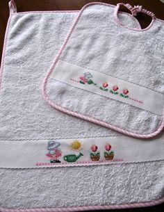 Asciugamanino + bavaglino