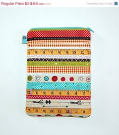 SALE I Love Sewing  iPad Mini / Kindle Fire HD / by RKEMdesigns, $20.36