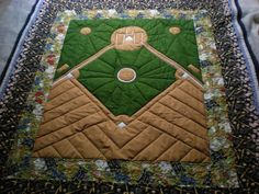America's favorite Pass time Baseball Quilt