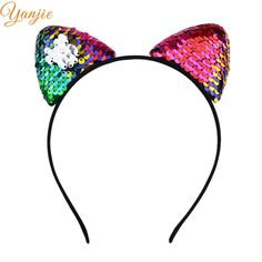 Apparel Accessories Lovely Bunny Ears Hair Band For Women Party Prom Self Photo Black Dot Headbands Women Hair Accessories Headband Hairband Bracing Up The Whole System And Strengthening It Girl's Hair Accessories