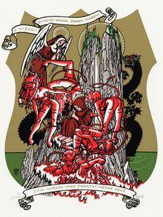 Peter Pontiac - Sacred Pin-ups - De verzoeking van St.Antonius - Griffioen Grafiek