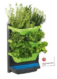 Gardenplaza - Preisgekröntes Bepflanzungs-System schafft optimale Bedingungen - Kräuter-, Blumen- und Naschgarten für jeden Balkon