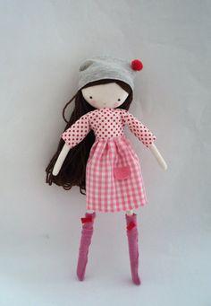 Заказать специальный для Лорен Эсме Mia тряпичная кукла от lassandaliasdeana