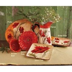 Image result for poppy dishes