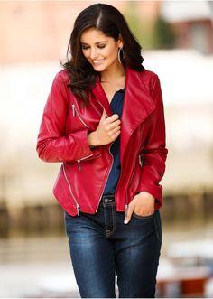 #faux_leather #jacket #bonprix