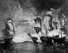 Barbary Pirates and Pirate Ships.