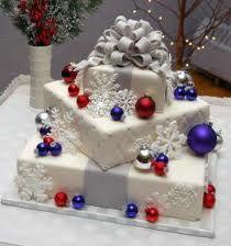 My wedding reception planning com images christmas wedding cake 15 jpg