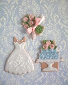 Look what I found on AliExpress Wedding Dress Cookies, Wedding Shower Cookies, Bridal Shower, Spice Cookies, Sugar Cookies, Decorating Tools, Cookie Decorating, Cupcakes, Cupcake Cakes