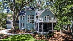 Beach house perfection on Daufuskie Island. Low Country, Country Life, Life Run, Relaxing Places, Hilton Head Island, Coastal Style, Dream Homes, Beach House, Southern