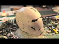 This Is How An Electronic Iron Man Helmet Is Made!