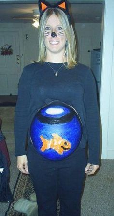 Disfraz de embarazada.
