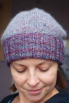 Ravelry project: capovak's Simple Pleasures Hat ~ pattern by Purl Bee