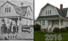 Man restores his grandparents' 1916 flat-pack home from Sears #DailyMail | These are some of the stories. See the rest @ http://twodaysnewstand.weebly.com/mail-onlinecom or Video's @ http://www.dailymail.co.uk/video/index.html