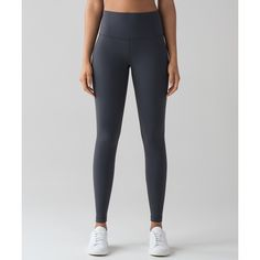 Lululemon Athletica Wunder Under Hi-Rise Tight (1 290 ZAR) ❤ liked on Polyvore featuring activewear, activewear pants, yoga activewear and lululemon