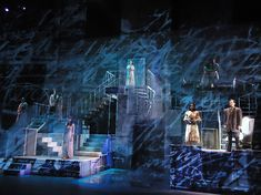 The House Of Spirits. Projection Design Alex Oliszewski. For more http://livedesignonline.com/theatre/5qs-alex-oliszewski-assistant-professor