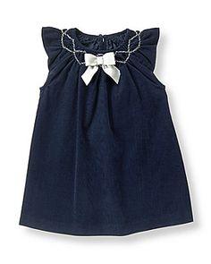 Bow Corduroy Dress - Janie & Jack