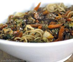 PANELATERAPIA - Blog de Culinária, Gastronomia e Receitas: Espaguete Oriental