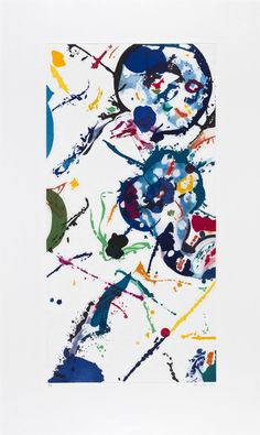 Sam Francis Untitled, 1991 Etching