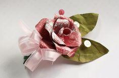 Handmade Paper Corsage